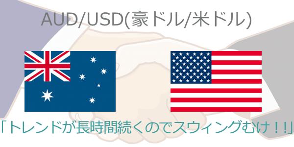 豪ドル米ドルのスプレッドランキング
