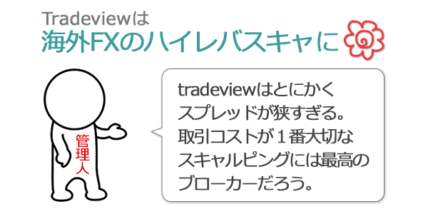 tradeviewに対する管理人の意見